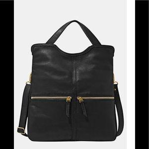 Fossil Erin Fold over crossbody leather purse